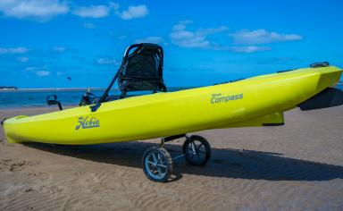 Hobie Compass on beach