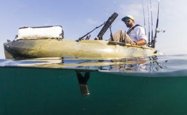 Hobie Camo Outback On Water