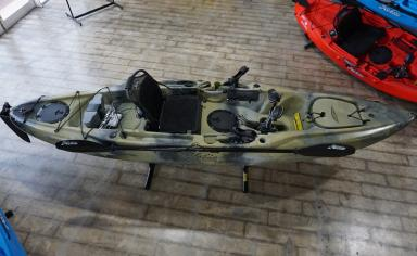 X-Display 2015 Hobie Outback (Camo) - Top down view