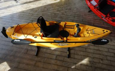 X-Display 2015 Hobie Sport (Yellow) - Top Down View