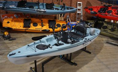Hobie passport 12.0 Fishing Fit Out
